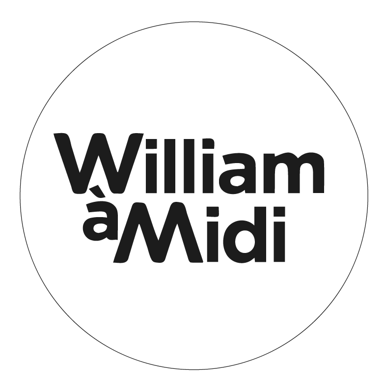 "Logo ""William à Midi"""